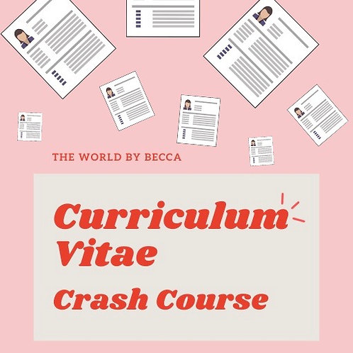 Curriculum Vitae Crash Course - eBook