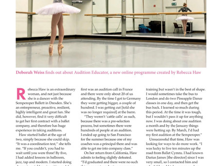 Dancing Times Feature