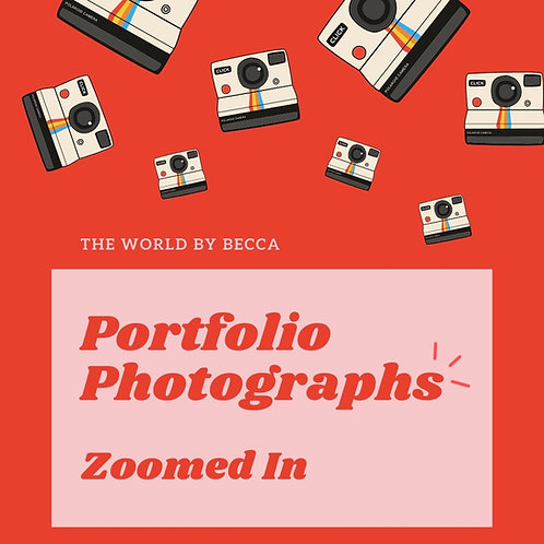 Portfolio Photographs Zoomed In - eBook