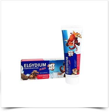 Elgydium Kids Gel Dentífrico Morango Idade do Gelo   50ml