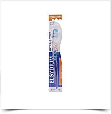 Elgydium Interactive Escova de Dentes Dura | 1 unidade
