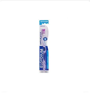 Elgydium Escova de Dentes Anti-Placa Média   1 unidade