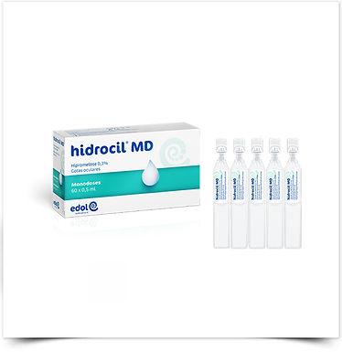 Edol Hidrocil MD Gotas Oftálmicas | 60 monodoses x 0,5 mL