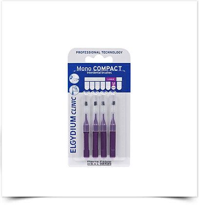 Elgydium Clinic Escovil Mono Compac Roxo | 4 unidades