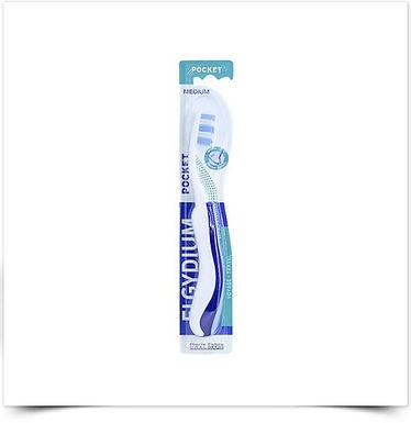 Elgydium Escova de Dentes Pocket Média | 1 unidade