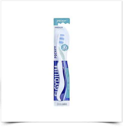 Elgydium Escova de Dentes Pocket Média   1 unidade