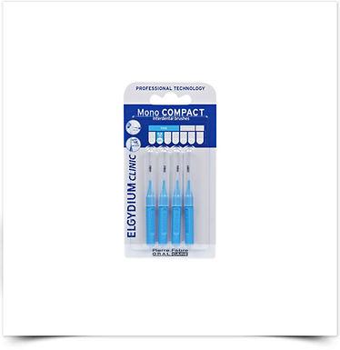 Elgydium Clinic Escovilhões Mono Compact Azul | 4 unidades