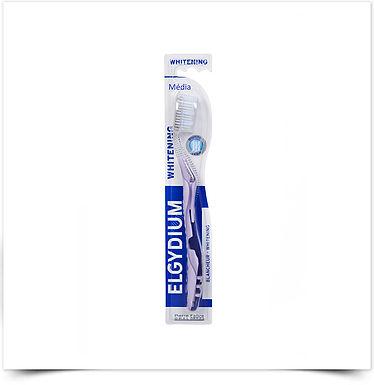 Elgydium Whitening Escova de Dentes Média   1 unidade
