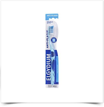 Elgydium Escova de Dentes Anti-Placa Suave   1 unidade