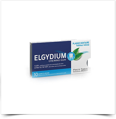 Elgydium Pastilhas Antiplaca | 10 pastilhas elásticas