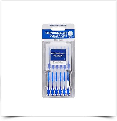 Elgydium Clinic Dental Picks Escovilhão   36 unidades