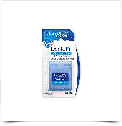Elgydium Clinic Fio Dentário com Clorohexidina | 50 metros