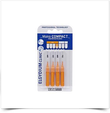 Elgydium Clinic Escovil Mono Compac Laranja | 4 unidades