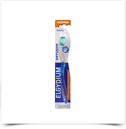 Elgydium Diffusion Escova de Dentes Média   1 unidade
