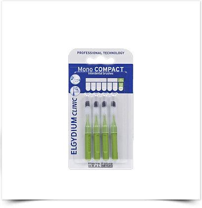 Elgydium Clinic Escovil Mono Compac Verde   4 unidades