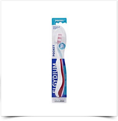 Elgydium Escova de Dentes Pocket Suave | 1 unidade