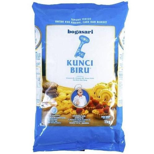Tepung Terigu Kunci Biru 1 kg JKT