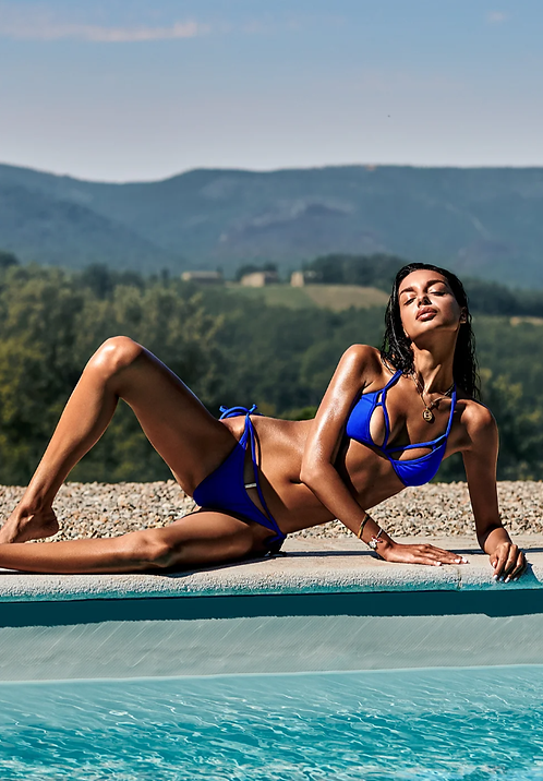 Сostarica blue bikini