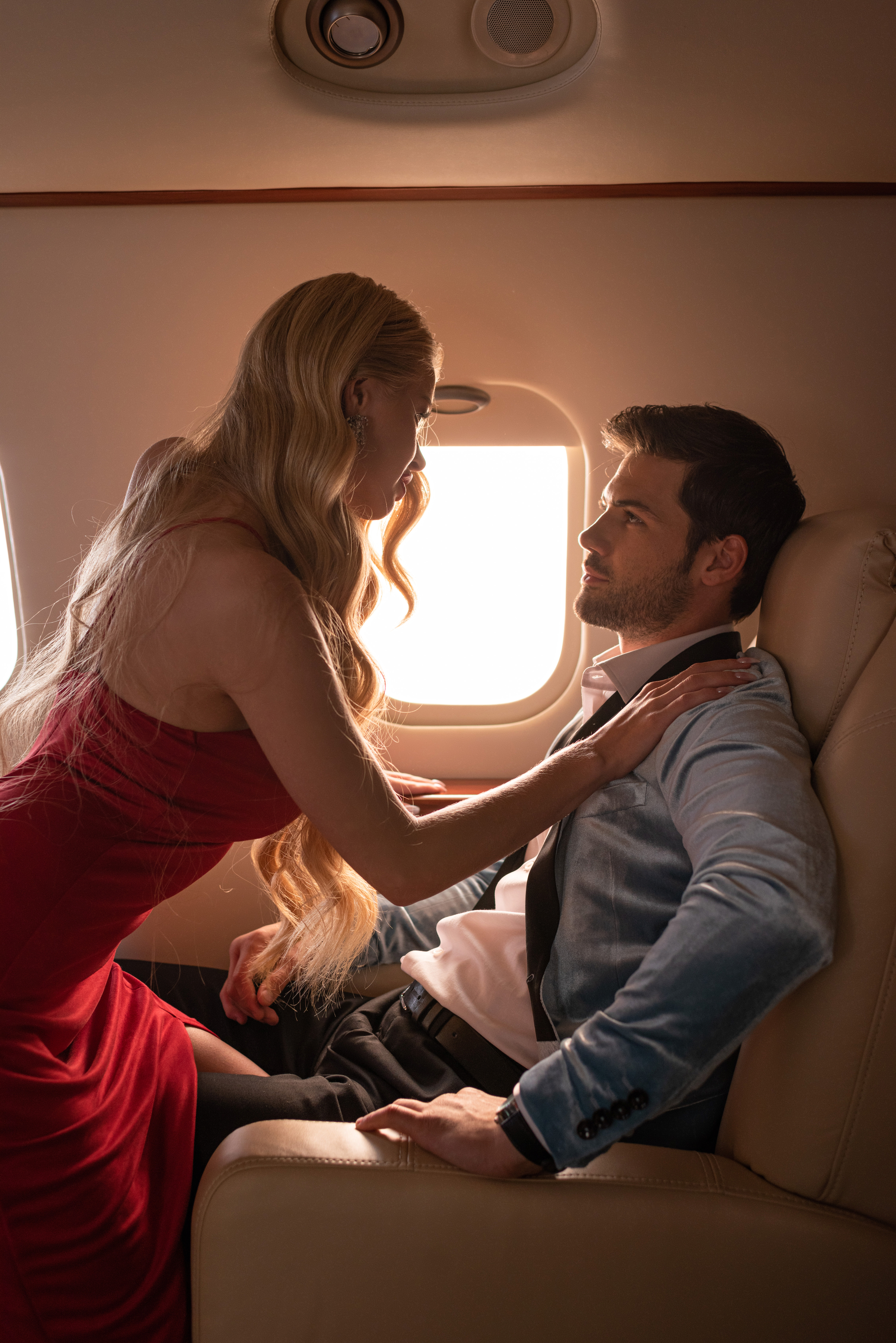 #style #private #jet #couple #travel