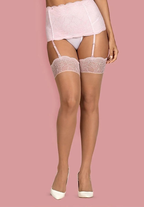 Girlly delicate stockings with lace