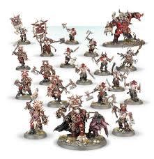 Start Collecting! Khorne Bloodbound Goreblade Warband (WT)