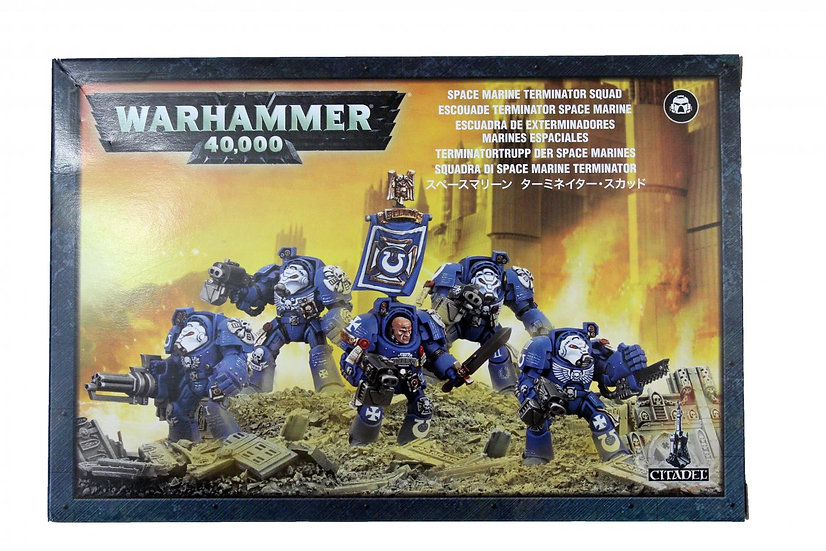 Space Marine Terminator Squad WT