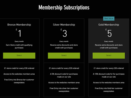 Composite Games Subscriptions
