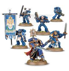 Space Marine Company Command WT