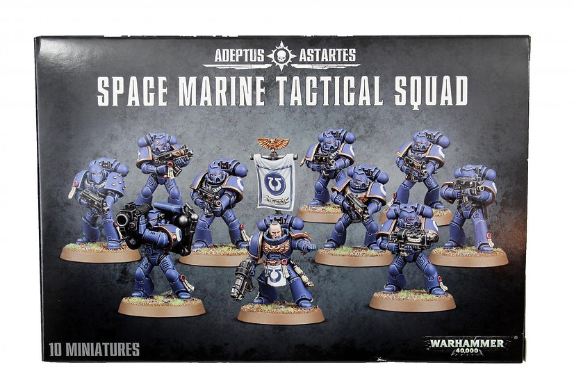 Space Marines Tactical Squad WT