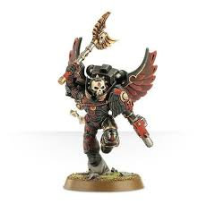Blood Angels Chaplain with Jump Pack WT