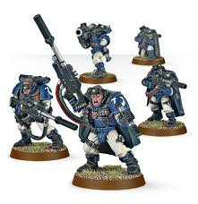 Space Marine Scouts with Sniper Rifles WT