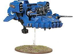 Space Marine Land Speeder WT