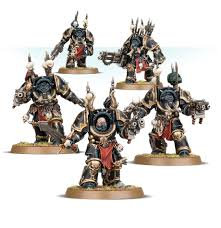 Chaos Space Marines Terminators WT