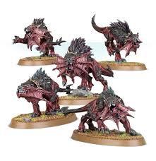 Daemons of Khorne: Flesh Hounds WT