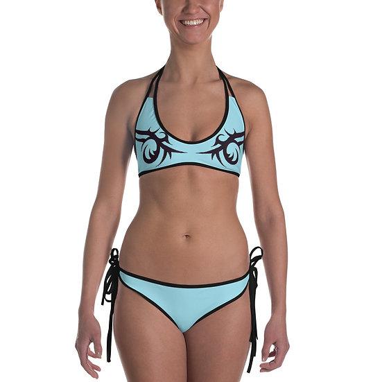 Tribal Bikini - Light Blue