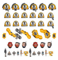 Imperial Fists Primaris Upgrades and Transfers WT