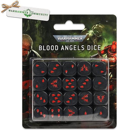 Blood Angels Dice Set (WT)