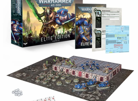 New Starter box set launch, Black Library, international orders and Giveaways