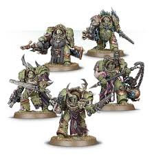 Death Guard: Blightlord Terminators WT