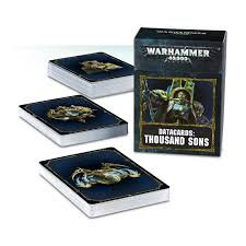 Datacards: Thousand Sons(ENG) WT