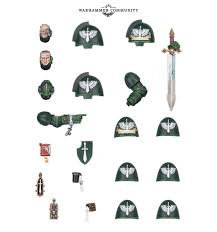 Dark Angels Primaris Upgrades WT