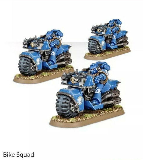 Space Marine Bike Squad WT