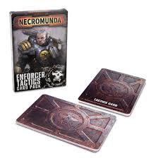 Necromunda: Enforcer Tactics Card Pack (WT)