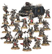 Chaos Space Marines Vengeance Warband WT