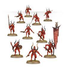 Daemons of Khorne: Bloodletters WT