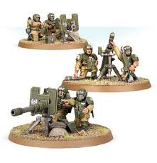 Astra Militarum Cadian Heavy Weapons Squad WT