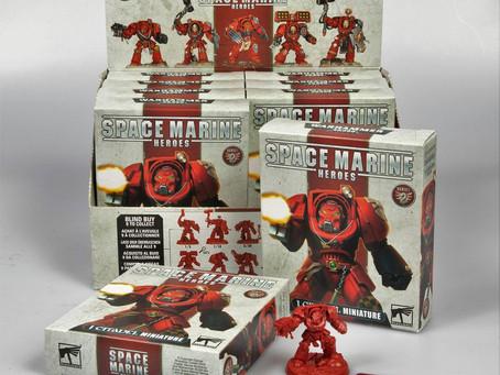 Space Marine Heroes Series 2 and Other Games Workshop Merchandise