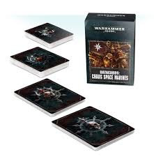 Datacards: Chaos Space Marines (ENG) WT