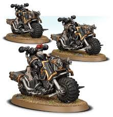 Chaos Space Marines Bikers WT