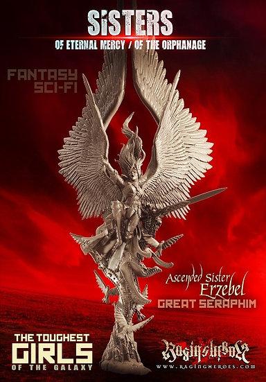 Ascended Sister ERZEBEL The Great Seraphim